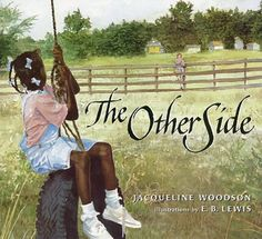 Historical: The Other Side: Jacqueline Woodson, E. Lewis, Books Historical Fiction, Social Studies, History Description: A book about segregation between African-Americans and whites. Activity: Art craft created by working together to complete it. This Is A Book, The Book, The Other Side Book, Mentor Texts, Civil Rights Movement, Children's Literature, American Literature, American History, Inspiration For Kids