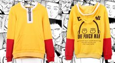 """magicalshopping: """"  ❤ One Punch Man Hoodie (S-2XL) ❤ 