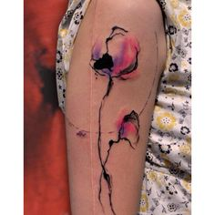 Love tattoos that look like paintings!