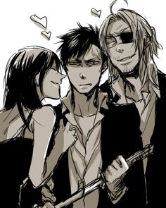 Gangsta, Alex, Nico and Worick
