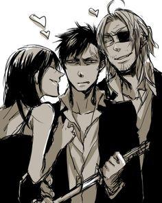 Gangsta, Alex, Nico and Worick