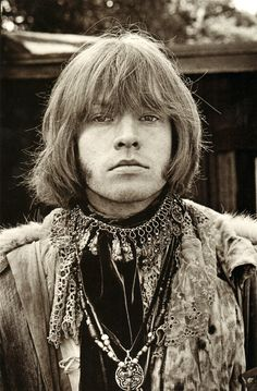 Brian Jones - Monterey pop Festival, 1967  Photo de Jim Marshall