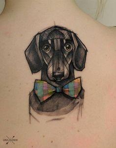 Cachorro tattoo