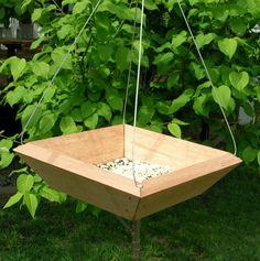 Trapezoid Tray Bird Feeder