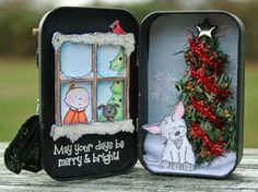 Christmas Altoid Tin