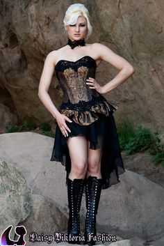 53e7648a53c This overbust corset comes with and without the bottom ruffle. The beaded  trim is hand stitched onto the top and bottom edges of the corset.