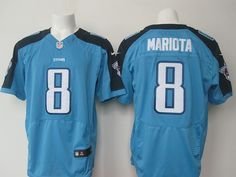 Nike Titans Marcus Mariota Light Blue Team Color Men s Stitched NFL Elite  Jersey And nfl jersey online 2133a856b