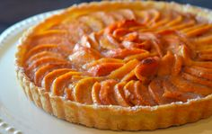 Persimmon tart-  11 Fall desserts without pumpkin!