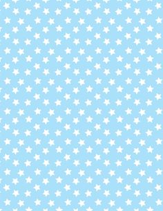 Baby blue with white stars paper. Printable image for scrapbooking, wrapping… Printable Scrapbook Paper, Digital Scrapbook Paper, Printable Paper, Watercolor Card, Scrapbook Patterns, Baby Boy Scrapbook, Baby Clip Art, Baby Images, Paper Stars