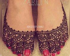 mehndi #2 Henna slippers