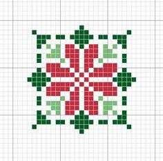 Cusaturi Xmas Cross Stitch, Cross Stitch Christmas Ornaments, Cross Stitch Cards, Christmas Embroidery, Christmas Cross, Counted Cross Stitch Patterns, Cross Stitch Designs, Cross Stitching, Cross Stitch Embroidery