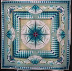Departure by Kiyomi Takayanagi, from the Why Quilts Matter blog, photographed at International Quilt Market