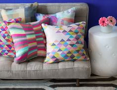 LOVE these pillows!!!! The colors and graphics are great