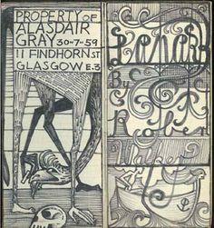 Bibliobibuli: Writers who Illustrate ALISDAIR GRAY
