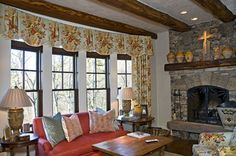 Cashiers, NC - traditional - living room - atlanta - by The Berry Group