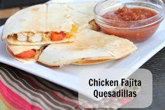 Chicken Fajita Quesadillas | 5DollarDinners