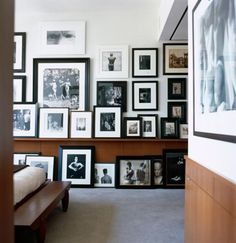I've always wanted to live in a home surrounded by photography of things and people I love most.