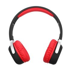 [USD25.04] [EUR23.84] [GBP18.58] New Bee Wireless Bluetooth Stereo Foldable Headset with Mic, Support Handfree Call & NFC Pairing & Pedometer(Red)