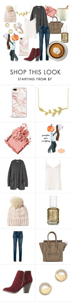 """""""Thanksgiving ensemble"""" by rapunzel-ii ❤ liked on Polyvore featuring Disney, Allurez, Bobbi Brown Cosmetics, L'Agence, Woolrich, Balmain, CÉLINE, Charlotte Russe, Bloomingdale's and Saks Fifth Avenue"""