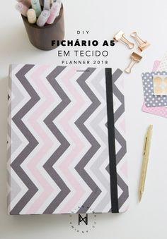 DIY: binder planner in format - New Ideas Diy Cape, Glam Planner, Life Planner, Binder Planner, Diy Agenda, Printable Planner Pages, Diy Notebook, Diy Letters, Fitness Planner