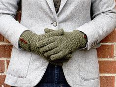 Free glove pattern by Rebecca Blair