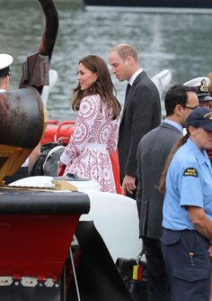 Prince William, Duke of Cambridge and Catherine, Duchess of Cambridge visit the Canadian Coast Guard and Vancouver First Responders Event at Kitsilano Coastguard Station on September 25, 2016 in Vancouver, Canada.