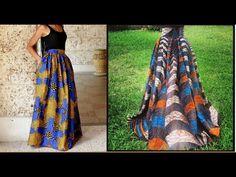 DIY & OOTD HIgh Waist Ankara African Print Mesh Tulle Skirt (GIVEAWAY) Tutorial Video - YouTube