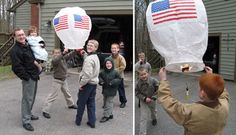 The Next Generation of Gorskis with Paper Hot Air Balloons Flying Paper Lanterns, Sky Lanterns, How To Make Fireworks, Chinese Paper, Chinese Lanterns, Paper Hearts, Beautiful Sky, How To Make Paper, Hot Air Balloon