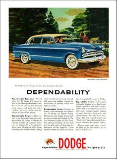 171 best dodge 1950 1955 images on pinterest antique cars 1953 dodge coronet v eight 4 door sedan publicscrutiny Choice Image