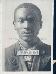 1932 Photo Sam White Will Evans Cairo IL Jail Penitentiary Chester Original