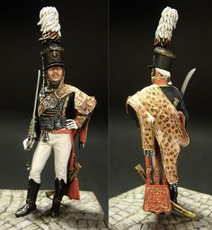 Figures: Chief officer, Leib Guard hussars regt., Russia 1803