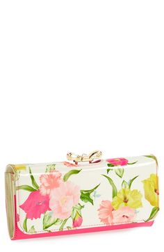 Ted Baker London 'Flowers at High Tea' Matinee Wallet | Nordstrom