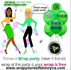 Host a wrap party today! In person or virtually, too!!!
