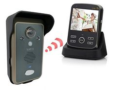 SKATCO Wireless Intercom Camera Door Bell Entry System 300M Range SKATCO http://www.amazon.co.uk/dp/B00L0EW9Y0/ref=cm_sw_r_pi_dp_JhrNvb1A09D9E