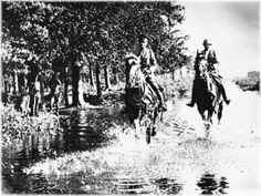 Lieutenant General Van Voorst tot Voorst inspects the inundations, October 15, 1939 - pin by Paolo Marzioli