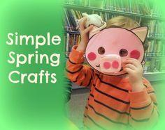Toddler crafts – multicoloured Spring lamb   BabyCentre Blog