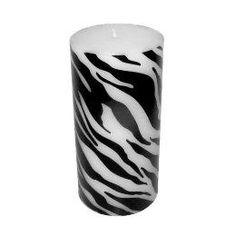 MochaJava: Decor/Accessories - Zebra Print Candle : Target - zebra candle