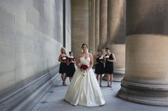 Real Bride Christine in Lazaro gown style 3018    http://www.jlmcouture.com/Lazaro/Bridal/Additional/Style-3018