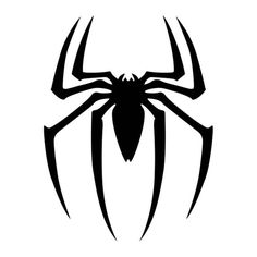Superhero Logo Coloring Pages Spiderman Tattoo, Spiderman Spider, Amazing Spiderman, Spiderman Stencil, Spiderman Images, Spiderman Marvel, Ms Marvel, Captain Marvel, Marvel Comics