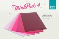HappyFabric -  Folienset Flex und Flock in Rosa-Pink