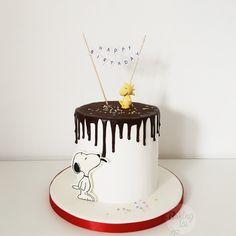 Snoopy Cake, Drip, Torte, Woodstock