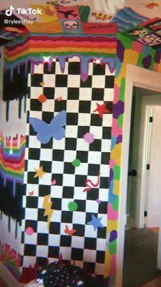 Indie Bedroom, Indie Room Decor, Cute Room Decor, Aesthetic Room Decor, Room Ideas Bedroom, Room Decor Bedroom, Girls Bedroom, Bedrooms, Chambre Indie