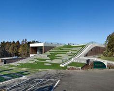 D•LIM architects digs subterranean forum for CJ nine bridges in korea