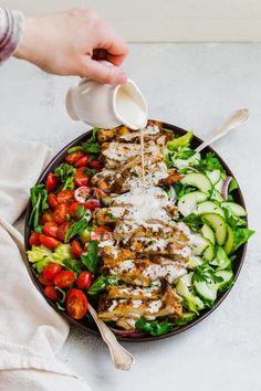 Chicken Shawarma Salad