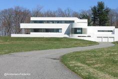 Modern residence in USA 1934 architecte Edward Durell Stone - Residencia de gran tamaño y estilo Moderno en Norteamérica - Arquitectura de Edward Durell Stone
