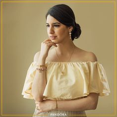 """9bc19b2b8de Anahita Dhondy on Instagram  """"PANDORA 💛 • One of my favourite accessories  is my Pandora bracelet ( arshitabhandari got it for me with a chef hat  charm on ..."""
