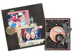 Black Magic Collection : Core'dinations ColorCore Cardstock® | Scrapbook Cardstock Paper, Projects, Tips, Techniques and More!