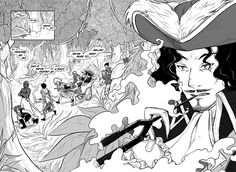 Well, well, helllooo there Captain Hook. It's about time you showed up! James Hook, A Hook, Captain Hook, Neverland, Peter Pan, Pirates, Fairy Tales, Fandoms, Deviantart