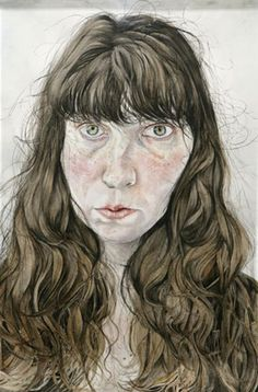 Ishbel Myerscough Self portrait 2009 Selfies, Roland Barthes, English Artists, Face Contouring, National Portrait Gallery, Modern Artists, Art Themes, Body Image, Female Art