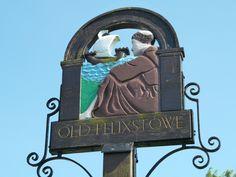 Village sign, Old Felixstowe